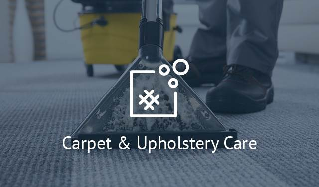 Carpet & Upholstery Care
