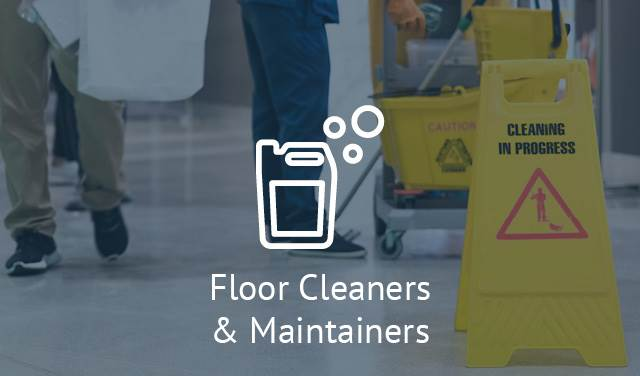 Floor Cleaners & Maintainers