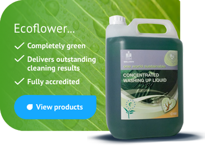 Ecoflower - completely green, outstanding cleaning results