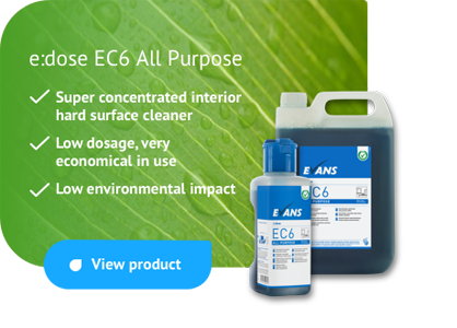edose EC6 - low environmental impact interior hard surface cleaner
