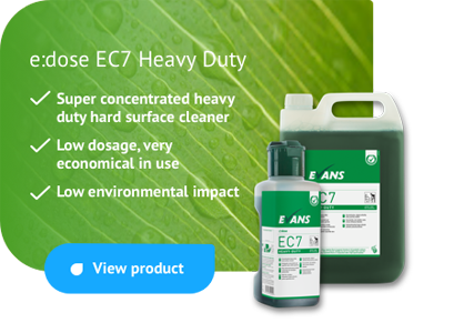 edose EC7 Heavy Duty - super concentrate heavy duty hard surface cleaner