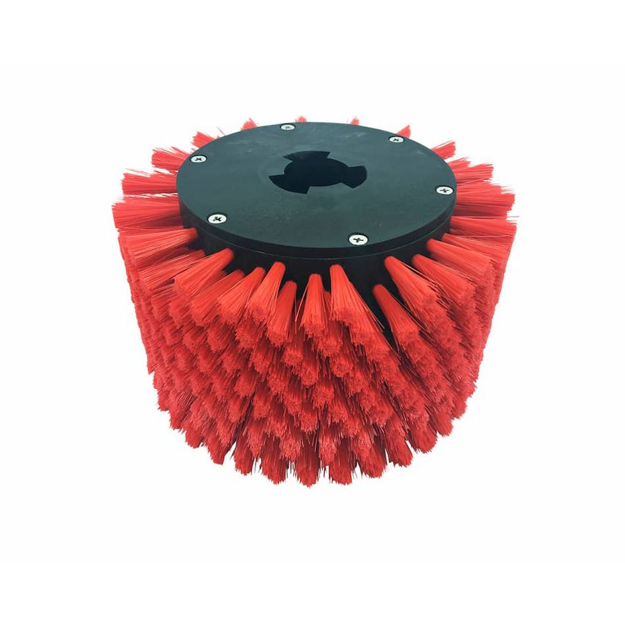 Stair riser brush