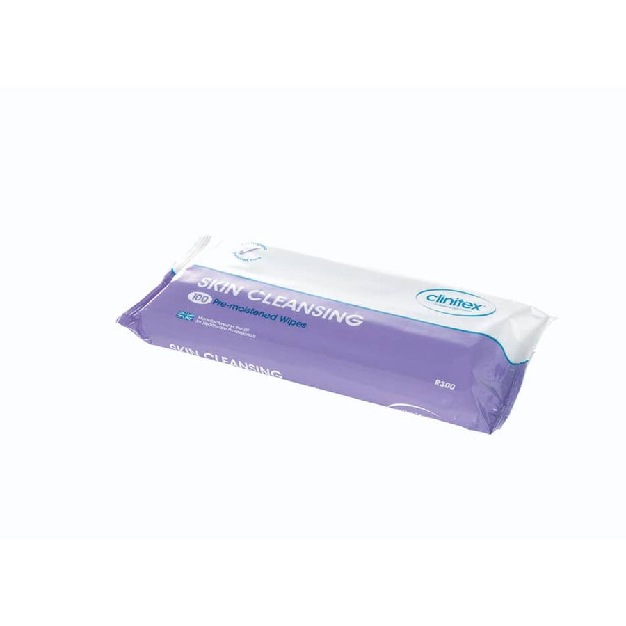 Pack 100 wipes